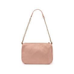 Petit sac porté épaule nude en microfibre, Sacs, 155127201MFNUDEUNI, 003 preview