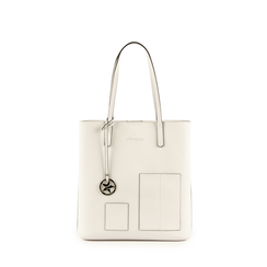 Shopper de ecopiel en color blanco, Bolsos, 153782784EPBIANUNI, 001a
