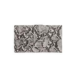 Portafogli bianco/nero stampa pitone , Primadonna, 175102538PTBINEUNI, 001 preview