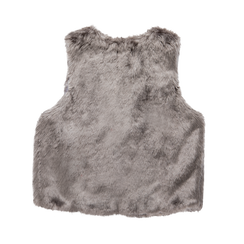 Smanicato eco-fur grigio, Abbigliamento, 12B400302FUGRIG, 006 preview