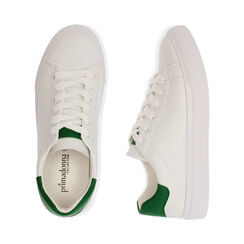 Baskets blanches / vertes, Chaussures, 172621209EPBIVE035, 003 preview