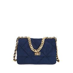 BAG BOLSO MICROFIBRA BLUE, Primadonna, 185123704MFBLUEUNI, 001a