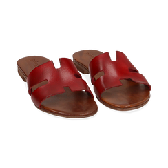 WOMEN SHOES FLAT COW LEATHER ROSS, Chaussures, 157245049VAROSS036, 002 preview