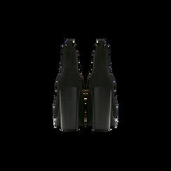 Chelsea Boots neri scamosciati, tacco 10 cm, Scarpe, 128403191MFNERO, 003 preview