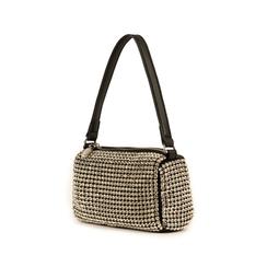 Mini bag nera con pietre, Primadonna, 15F520054ETNEROUNI, 004 preview