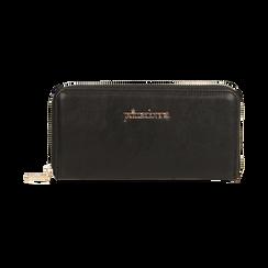 Portafogli nero, Borse, 155122519EPNEROUNI, 001 preview
