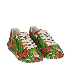 Sneakers multicolor stampa exotic, Primadonna, 172621031EPMULT035, 002a
