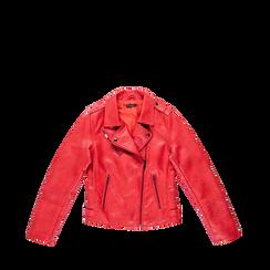 Giacca corta rossa ecopelle, Abbigliamento, 126501151EPROSS, 001a preview