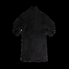 Cappotto lungo nero lavorazione shearling, Saldi, 12G750756TSNERO, 006 preview