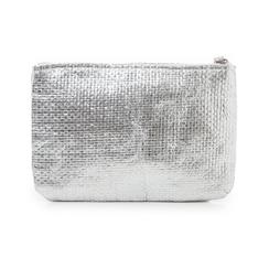 Pochette mare argento in paglia, Primadonna, 119061710PGARGEUNI, 003 preview