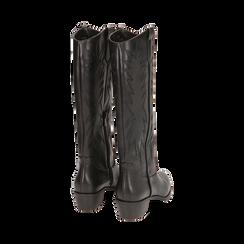 Camperas negras, tacón 4,5 cm, Zapatos, 170550211EPNERO035, 003 preview