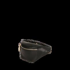 Mini marsupio nero, Borse, 165123032EPNEROUNI, 002a