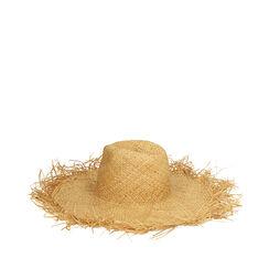 Cappello beige in paglia, Primadonna, 17J901350PGBEIGUNI, 002a