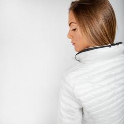 Piumino bianco Donna in Tessuto Tecnico, Abbigliamento, 128500501TSBIAN, 003 preview