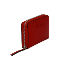 Portafoglio compatto rosso in eco-pelle, Borse, 133731344EPROSSUNI, 002 preview