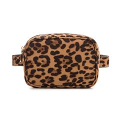 Marsupio leopard in microfibra, Borse, 133322210MFLEOPUNI, 001 preview