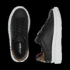 Sneakers nero/leopard , Primadonna, 162602011EPNELE036, 003 preview