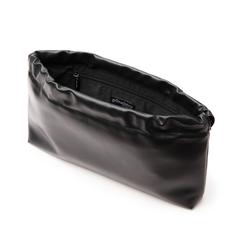 Bustina nera in eco-pelle, Primadonna, 145122232EPNEROUNI, 004 preview