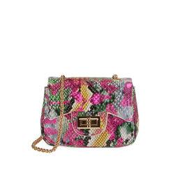 Mini-bag multicolor stampa pitone, Primadonna, 175122850PTMULTUNI, 001a