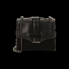 Petit sac noir imprimé vipère, Primadonna, 161918018EVNEROUNI, 001 preview