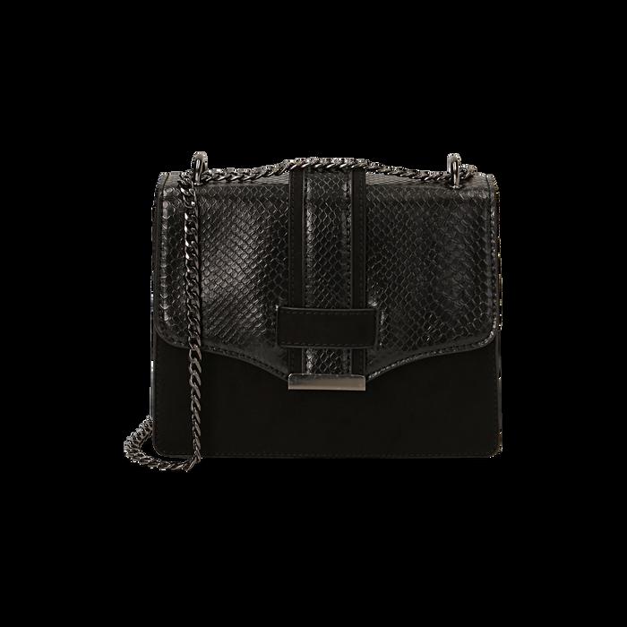 Petit sac noir imprimé vipère, Primadonna, 161918018EVNEROUNI