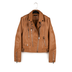 Biker jacket cuoio, Special Price, 156501128EPCUOIS, 003 preview