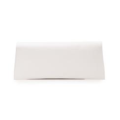 Pochette piatta bianca in eco-pelle, Borse, 145122509EPBIANUNI, 003 preview