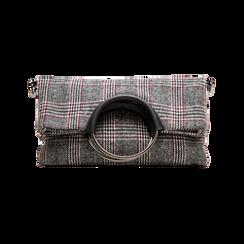 Pochette in tweed, Primadonna, 122900122TSNEGRUNI, 001 preview