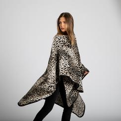 Poncho leopard, Saldi, 12B409676TSLEOP3XL, 002