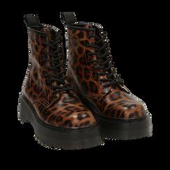 Anfibi platform leopard , Primadonna, 162800001EPLEMA035, 002a