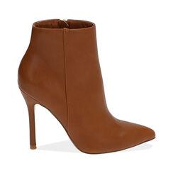 Ankle boots cognac, tacco 11 cm, Primadonna, 172146816EPCOGN035, 001 preview