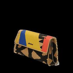 Sac multicolor en raphia, Sacs, 155122767RFMULTUNI, 002a