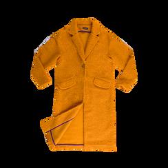 Cappotto lungo giallo lavorazione shearling, Abbigliamento, 12G750756TSGIAL, 001 preview
