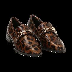 Mocasines con estampado de leopardo, Primadonna, 164964141EPLEMA037, 002 preview