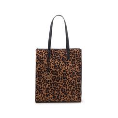 Maxi bag leopard in microfibra , Borse, 142900004MFLEOPUNI, 001 preview