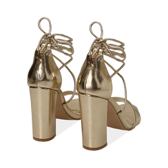 CALZATURA SANDALO LAMINATO OROG, Chaussures, 152760851LMOROG036, 004 preview