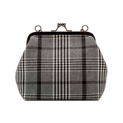 Pochette vintage in tweed, Saldi Borse, 122701280TSBINEUNI, 002 preview