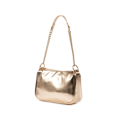Petit sac porté épaule doré en simili-cuir brillant, Primadonna, 155127201LMOROGUNI, 004 preview