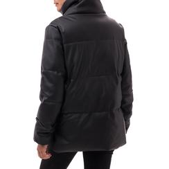 Piumino nero in nylon, Abbigliamento, 146501168NYNERO3XL, 002a