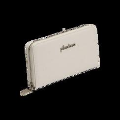 Portafogli bianco stampa cocco, Borse, 155122519CCBIANUNI, 002 preview
