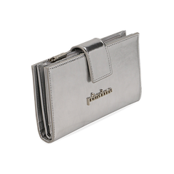 Portefeuille argenté en simili-cuir brillant, Sacs, 155122158LMARGEUNI, 002 preview
