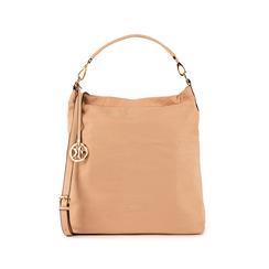 Maxi-bag nude in microfibra, Borse, 15D208513MFNUDEUNI, 001 preview