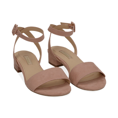CALZATURA FLAT MICROFIBRA NUDE, Chaussures, 154819193MFNUDE037, 002 preview