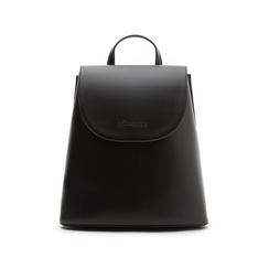 Zainetto nero in eco-pelle minimal, Borse, 133783137EPNEROUNI, 001 preview