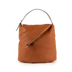 Maxi-bag  cuoio in eco-pelle, Primadonna, 151990171EPCUOIUNI, 001 preview