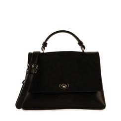Petit sac noir en simili-cuir, Sacs, 155700372EPNEROUNI, 001a