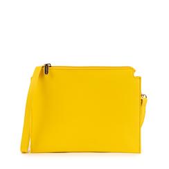 Bolsita en eco-piel color amarillo, Bolsos, 155122634EPGIALUNI, 001a