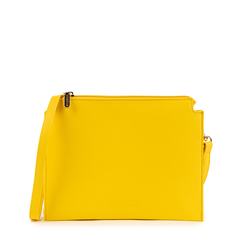 Pochette jaune en simili-cuir, Sacs, 155122634EPGIALUNI, 001a