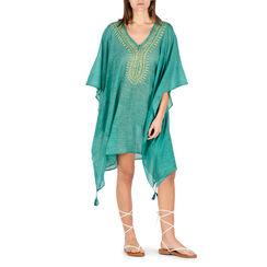 Caftan en tissu vert, Primadonna, 150500006TSVERDUNI, 001a