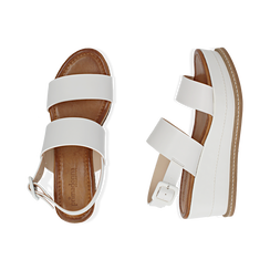 WOMEN SHOES WEDGE ECO-LEATHER BIAN, Chaussures, 154926601EPBIAN036, 003 preview